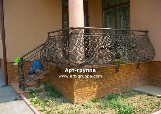 купить Балконное ограждение - изделие: 0011