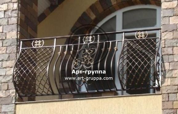 купить Балконное ограждение - изделие: 0014