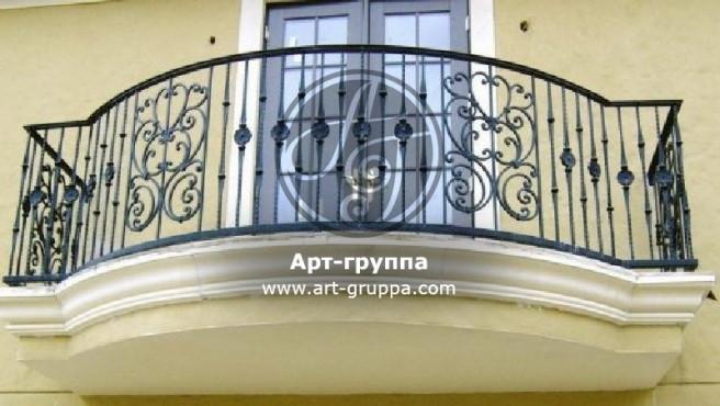купить Балконное ограждение - изделие: 0015
