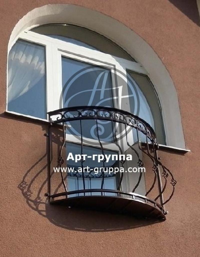 купить Балконное ограждение - изделие: 0020