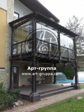 купить Балконное ограждение - изделие: 0024