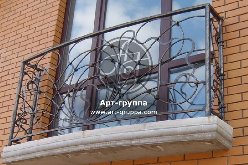 купить Балконное ограждение - изделие: 0038