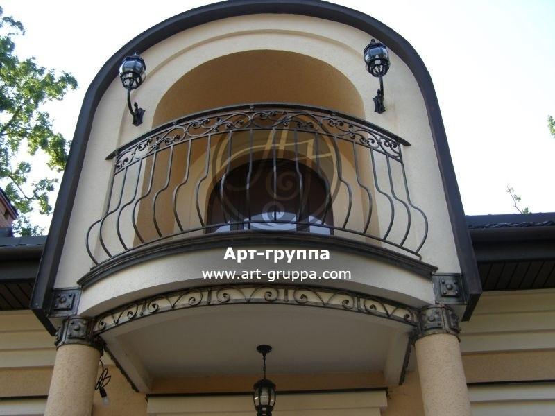 купить Балконное ограждение - изделие: 0042