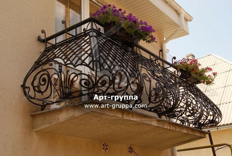 купить Балконное ограждение - изделие: 0050