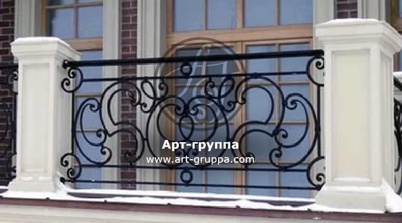 купить Балконное ограждение - изделие: 0053