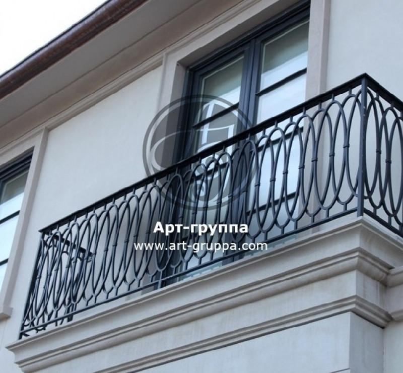 купить Балконное ограждение - изделие: 0054