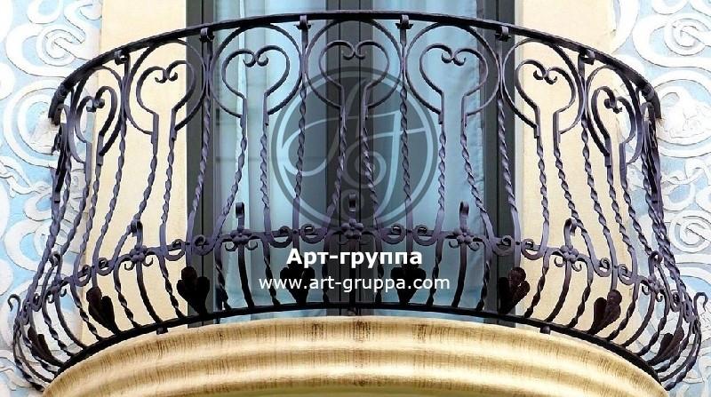 купить Балконное ограждение - изделие: 0058