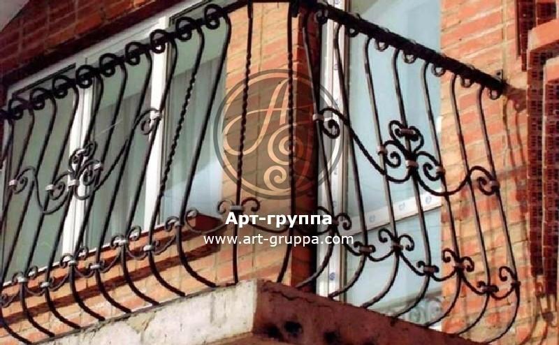 купить Балконное ограждение - изделие: 0059