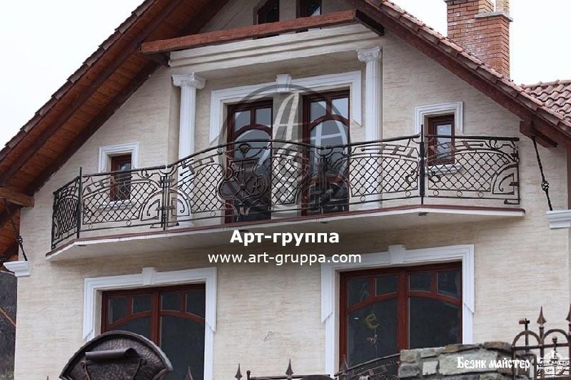 купить Балконное ограждение - изделие: 0064