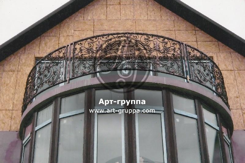 купить Балконное ограждение - изделие: 0065