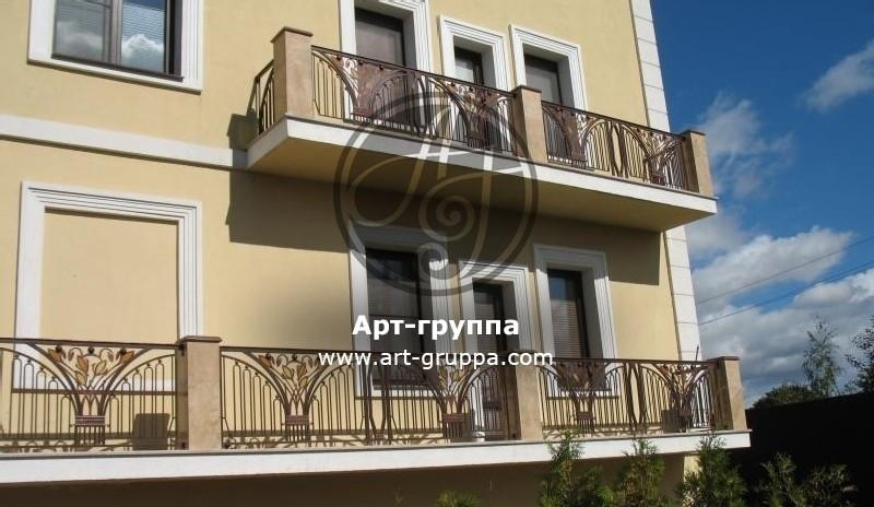 купить Балконное ограждение - изделие: 0071