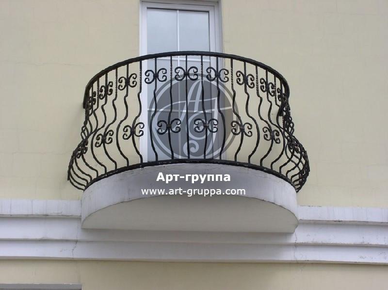 купить Балконное ограждение - изделие: 0076