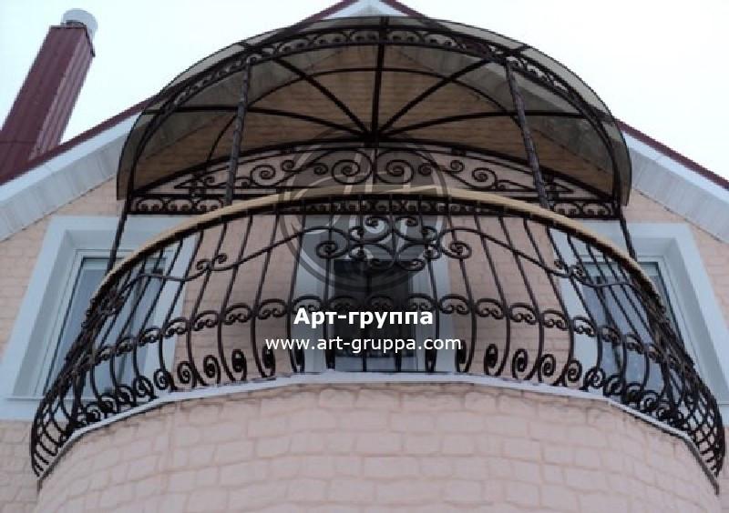 купить Балконное ограждение - изделие: 0077