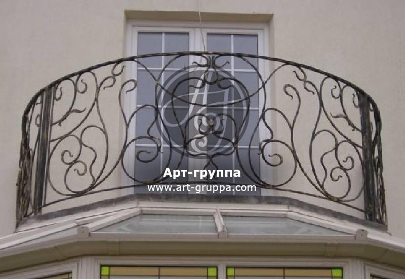 купить Балконное ограждение - изделие: 0078