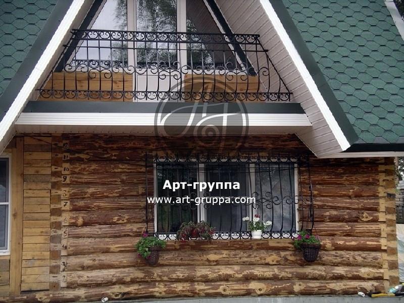 купить Балконное ограждение - изделие: 0079