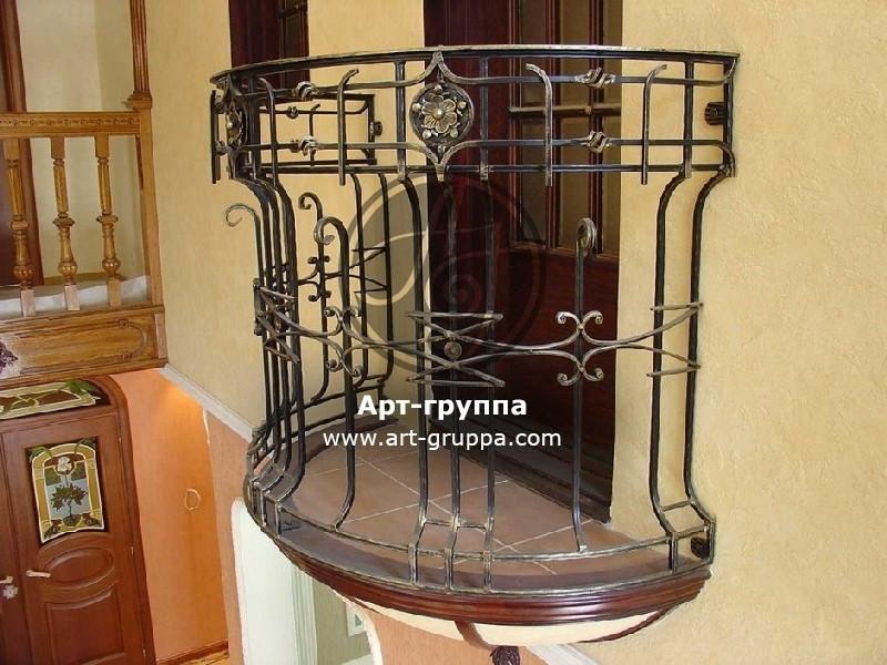 купить Балконное ограждение - изделие: 0082