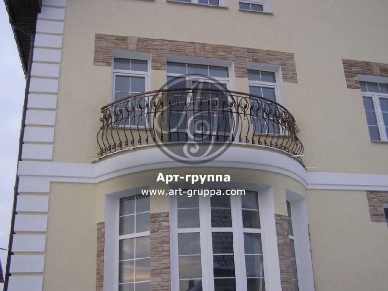 купить Балконное ограждение - изделие: 0086