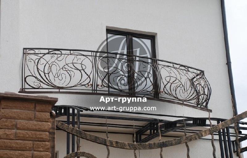 купить Балконное ограждение - изделие: 0088