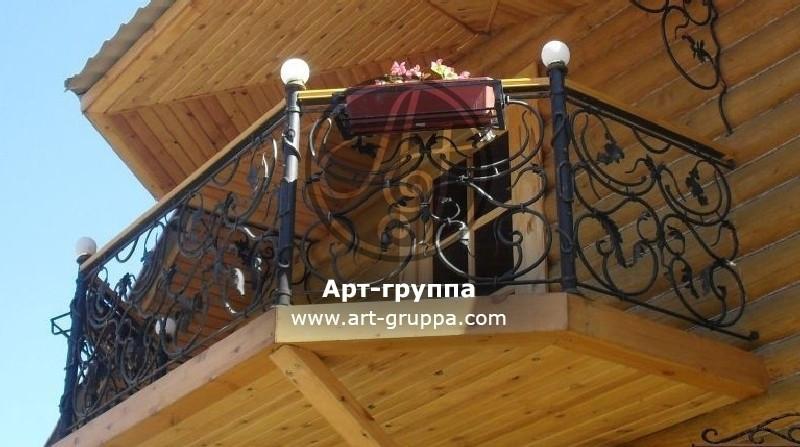 купить Балконное ограждение - изделие: 0093