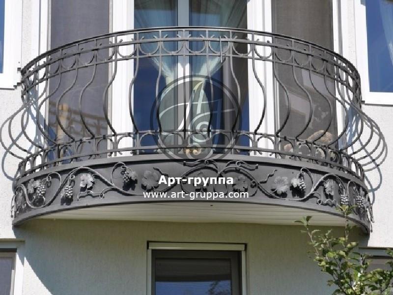 купить Балконное ограждение - изделие: 0096