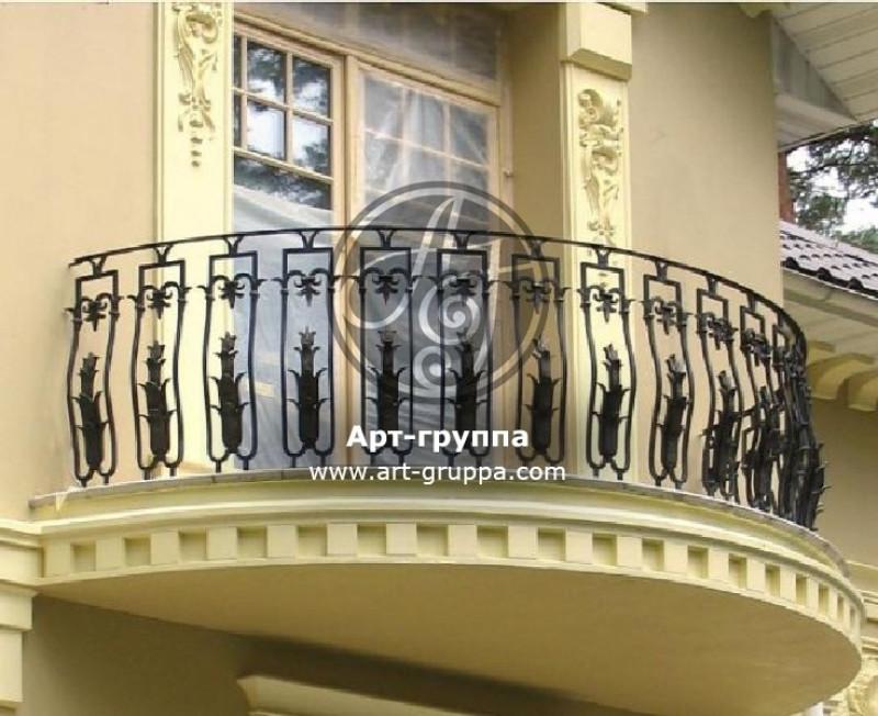купить Балконное ограждение - изделие: 0097