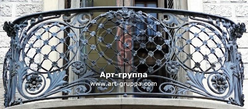 купить Балконное ограждение - изделие: 0103