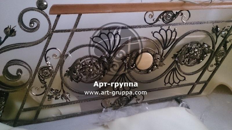 купить Перила кованые - изделие: 0222