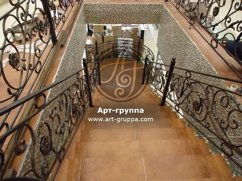 купить Перила кованые - изделие: 0226