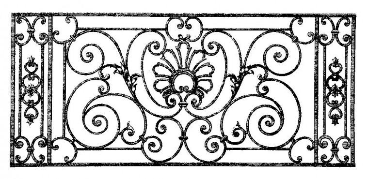 купить Перила кованые - изделие: 0771