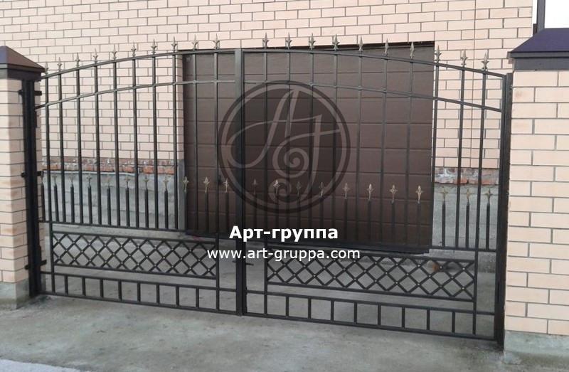 купить Ворота кованые - изделие: 0502