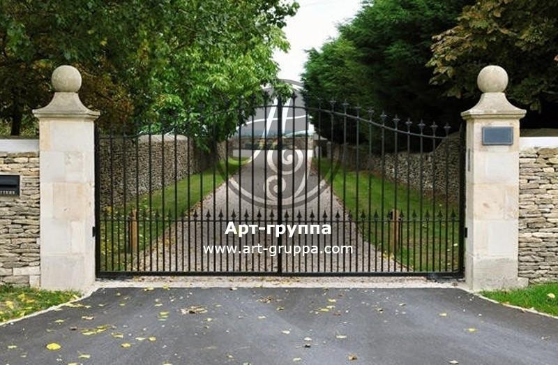 купить Ворота кованые - изделие: 0504