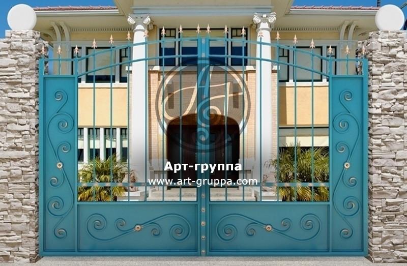 купить Ворота кованые - изделие: 0506