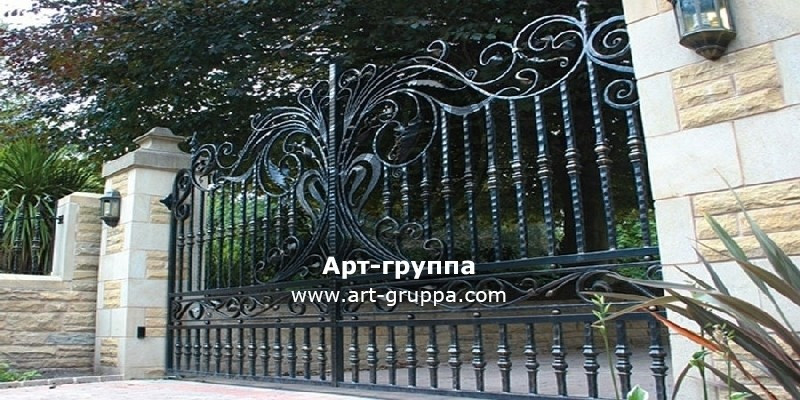 купить Ворота кованые - изделие: 0508