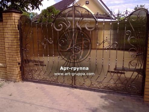 купить Ворота кованые - изделие: 0509