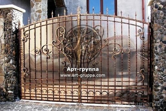 купить Ворота кованые - изделие: 0510