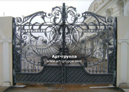 купить Ворота кованые - изделие: 0511