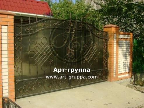 купить Ворота кованые - изделие: 0512