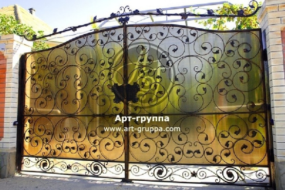 купить Ворота кованые - изделие: 0513