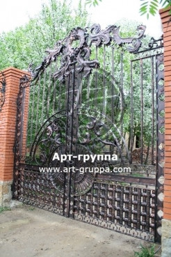 купить Ворота кованые - изделие: 0514