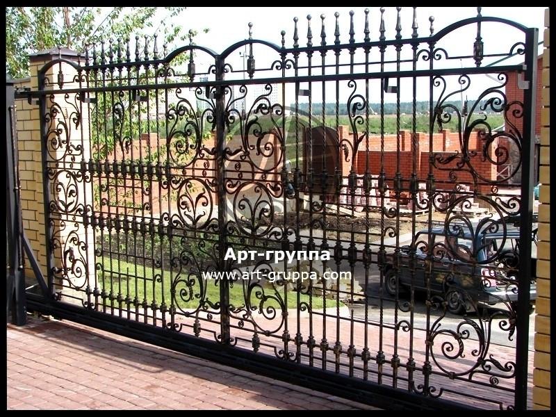купить Ворота кованые - изделие: 0515