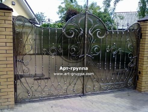 купить Ворота кованые - изделие: 0516