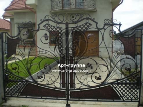 купить Ворота кованые - изделие: 0517