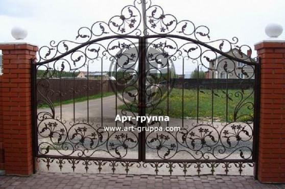 купить Ворота кованые - изделие: 0518