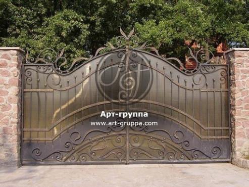 купить Ворота кованые - изделие: 0519