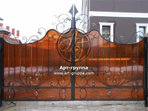 купить Ворота кованые - изделие: 0520