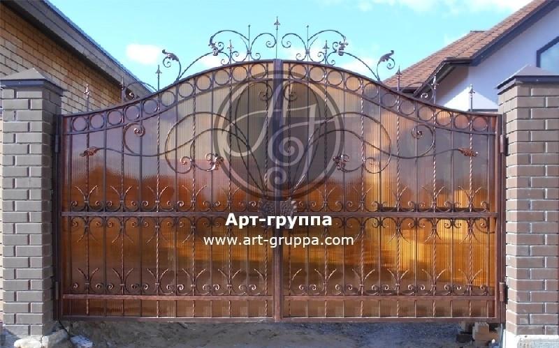 купить Ворота кованые - изделие: 0521