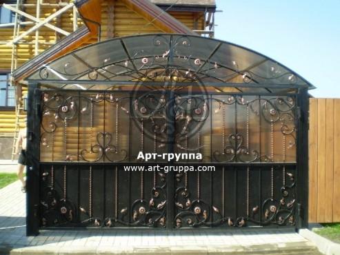 купить Ворота кованые - изделие: 0522