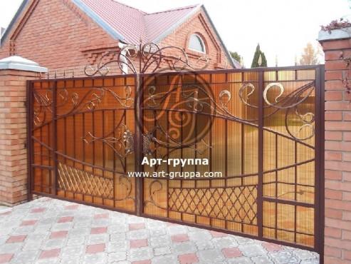 купить Ворота кованые - изделие: 0523