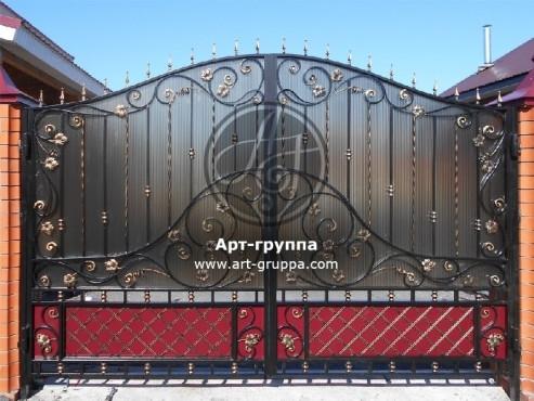 купить Ворота кованые - изделие: 0524