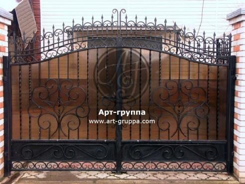 купить Ворота кованые - изделие: 0526